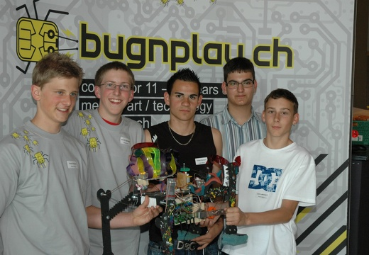 Bronze Award: Robot Dance. Team Brunnen