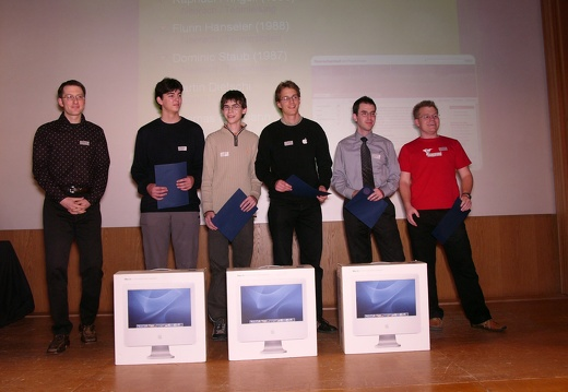 Best of Contest Award - the Team Neeracher Ried